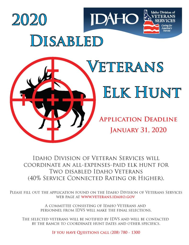 2020-Disabled-Veterans-Elk-Hunt-Flyer-791x1024 Vfw Membership Application Order Form on auxiliary flyer for, gift certificate, drive sign, application form fees, form michigan, requirements for, application pdf,